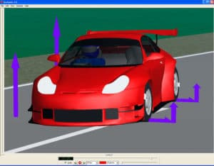 K&C data for vehicle dynamics simulation (CarSim, CarMaker, ADAMS) - Red Car
